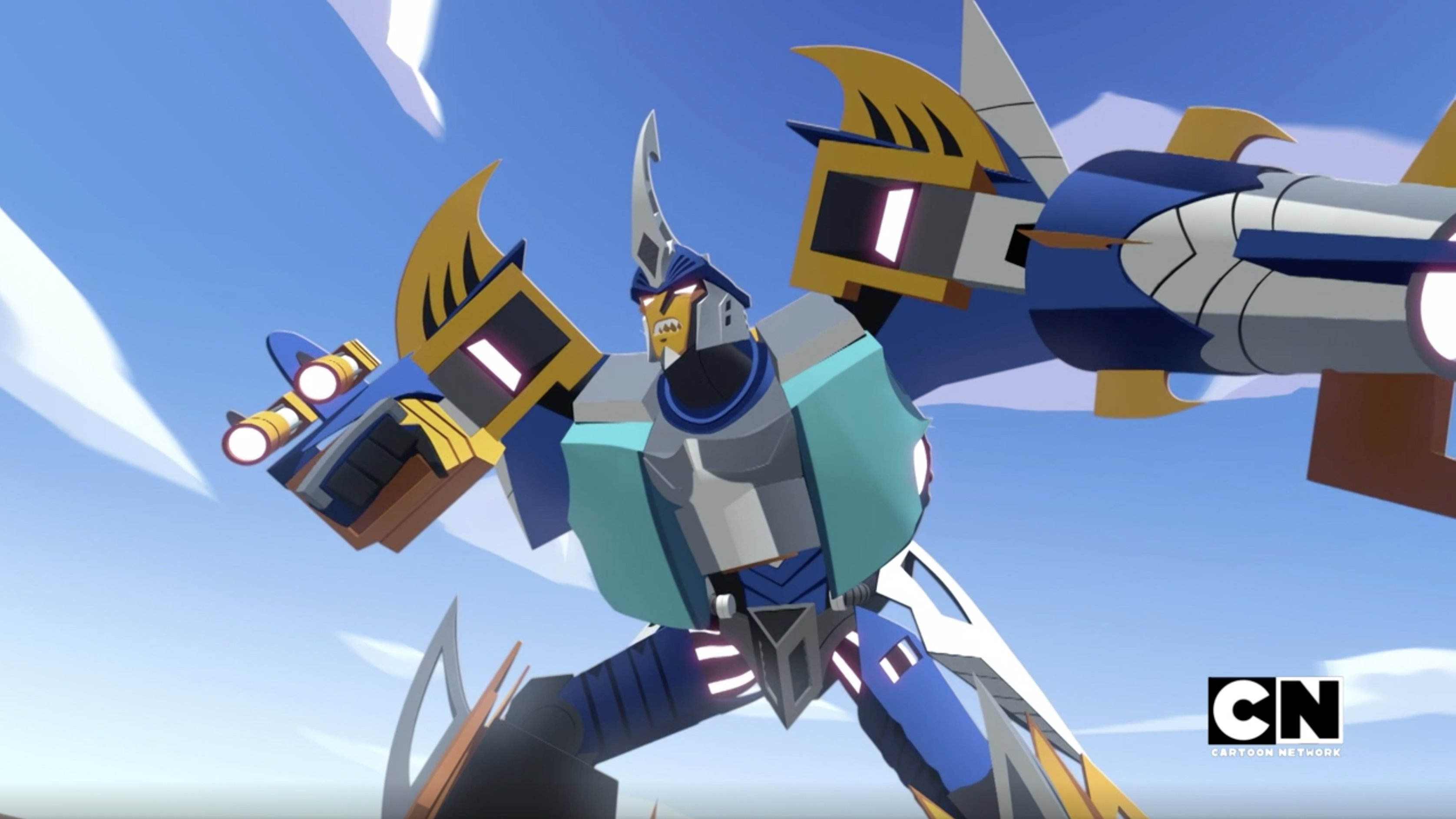 Sky-Byte makes a welcome return in Transformers Cyberverse