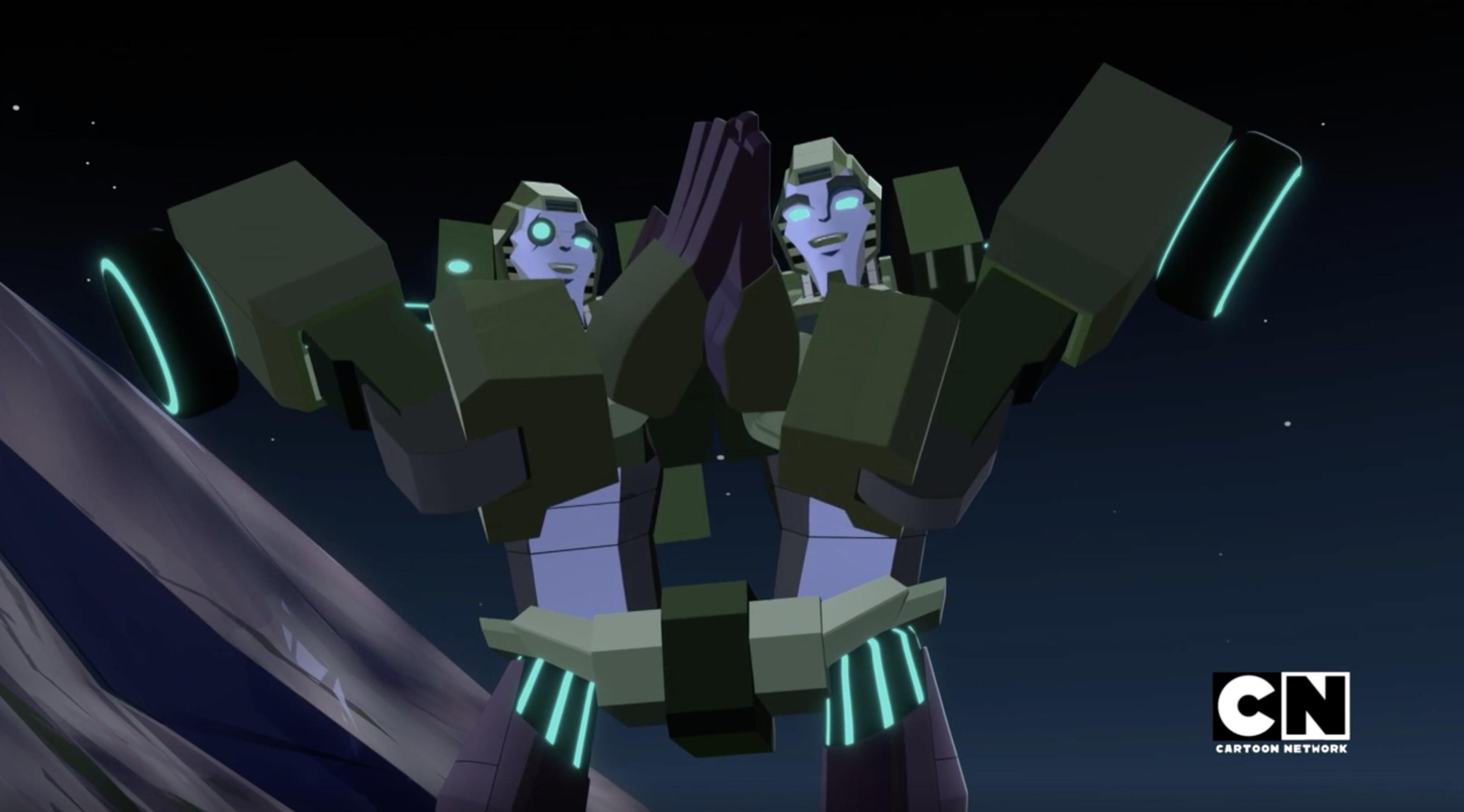 Transformers Cyberverse Rack and Ruin