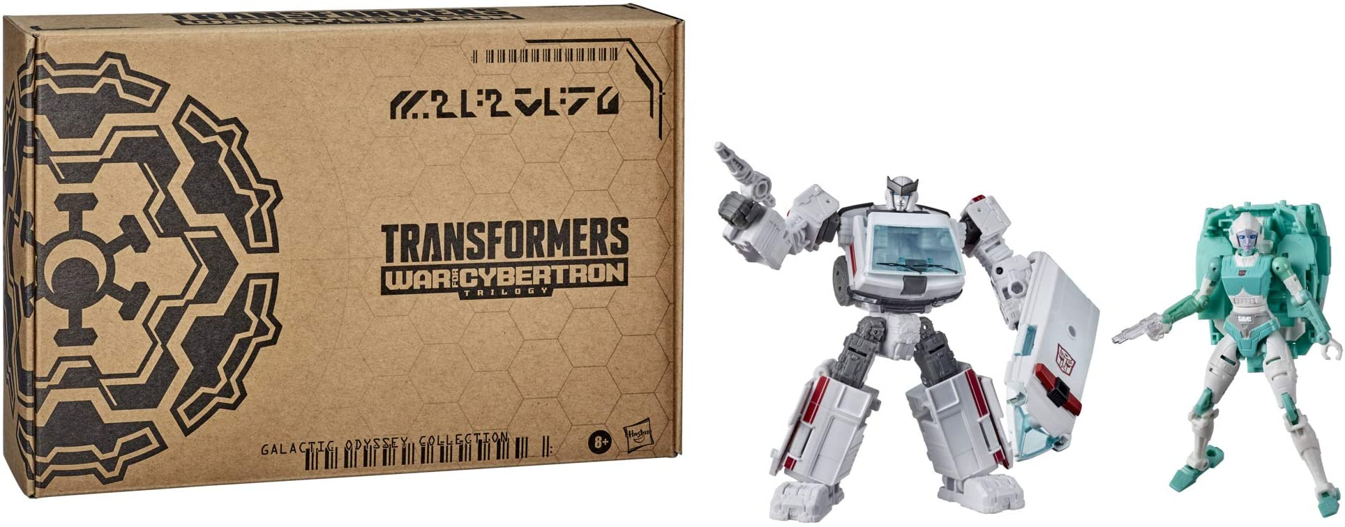 Transformers Generations War for Cybertron Galactic Odyssey Collection Parad...