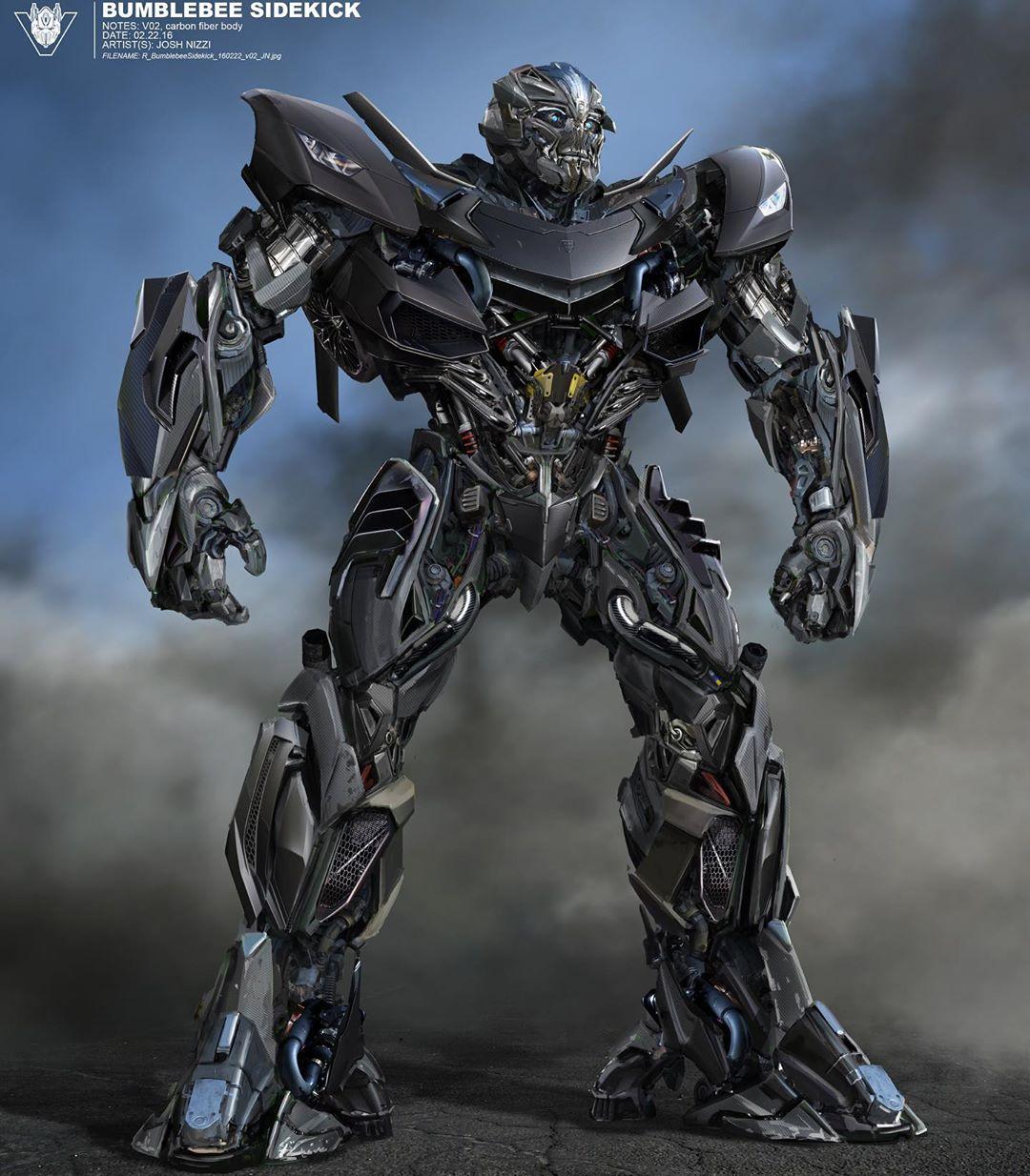 The Last Knight Hot Rod Dark Of The Moon Megatron Concept Art By Josh Nizzi Transformers News Tfw2005