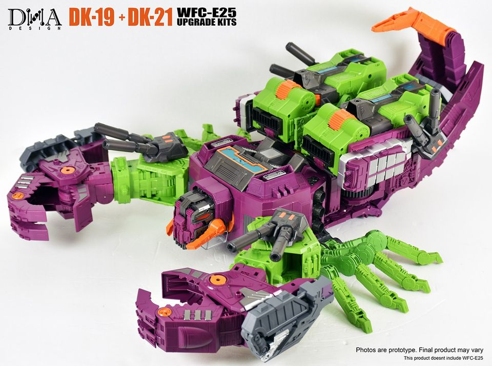 DK-21 Upgrade Kits For WFC-E25 Scorponok Pre-order DNA DK-19