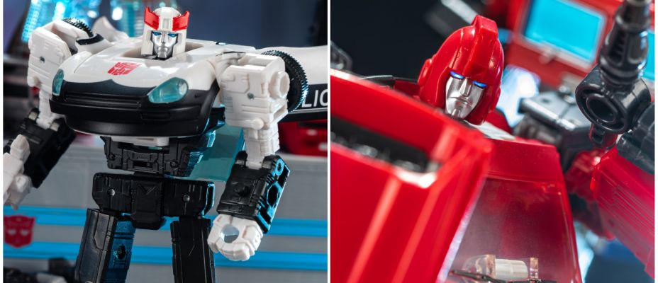 Transformers WFC Earthrise Autobot Alliance 2 Pack (Ironhide and Prowl) Gallery