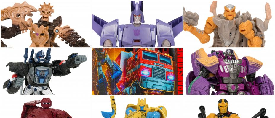 Transformers WFC Kingdom Complete Wave 1 In-Hand Mega Gallery!