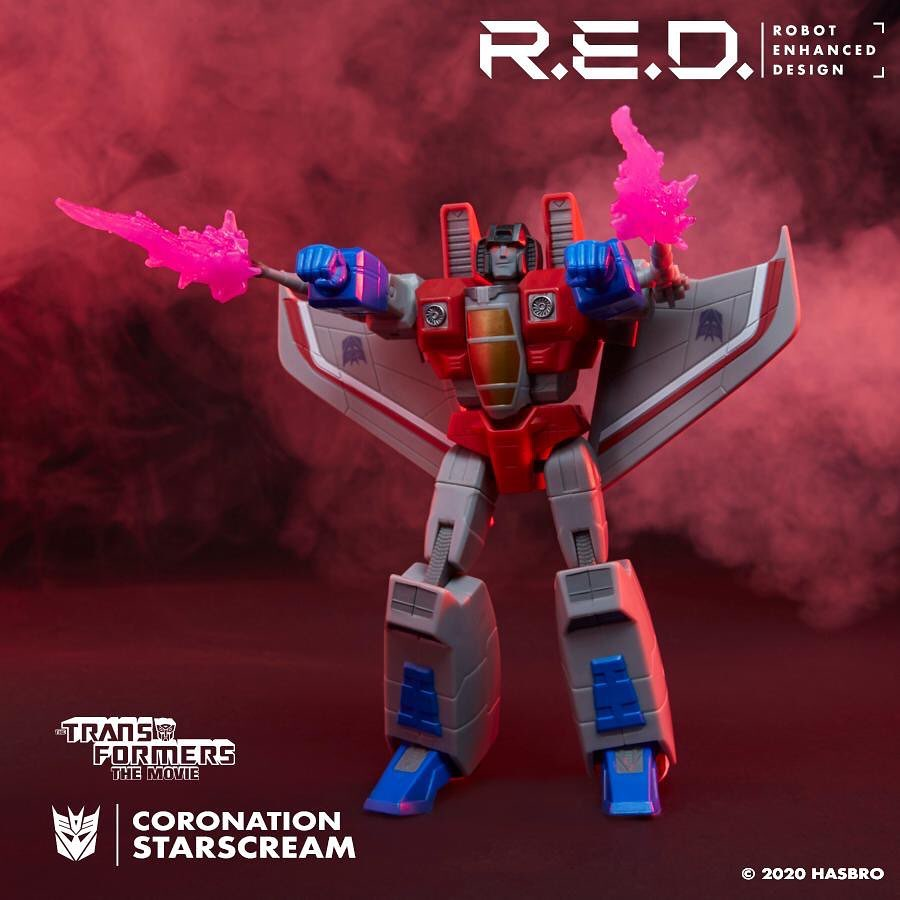 Figurines Transformers G1 (articulé, non transformable) ― Par ThreeZero, R.E.D, Super7, Toys Alliance, etc - Page 7 RED-G1-Starscream