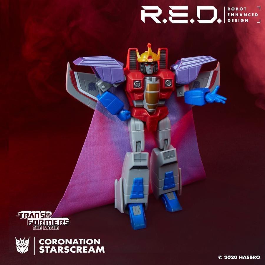 Figurines Transformers G1 (articulé, non transformable) ― Par ThreeZero, R.E.D, Super7, Toys Alliance, etc - Page 7 RED-G1-Starscream01
