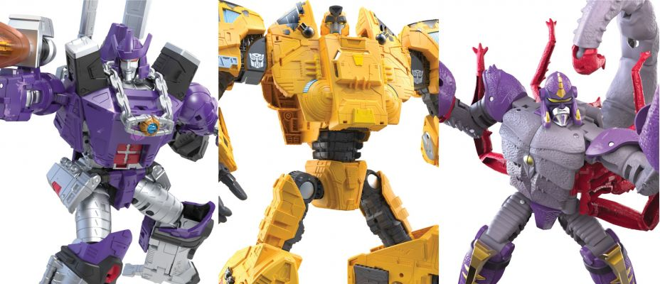Transformers Kingdom Leader Galvatron, Deluxe Scorponok and Titan Class Autobot Ark Revealed