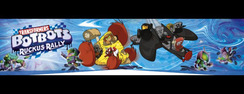 Jouets Transformers ― Robot Heroes, Bot Shots, Hero Mashers, Kre-O, ConstructBots, Q-Transformers & BotBots - Page 12 Transformers-Botbots-Ruckus-Rally-01