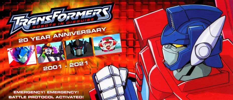 Happy Birthday RID - Robots In Disguise Turns 20 Today!